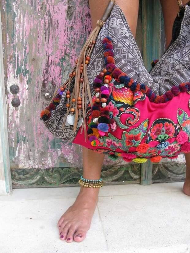 Идеальные сумки на лето в стиле бохо — море идей