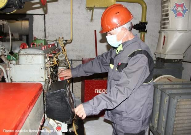 Специалисты ГОЧСиПБ из САО посоревновались в содержании защитных сооружений