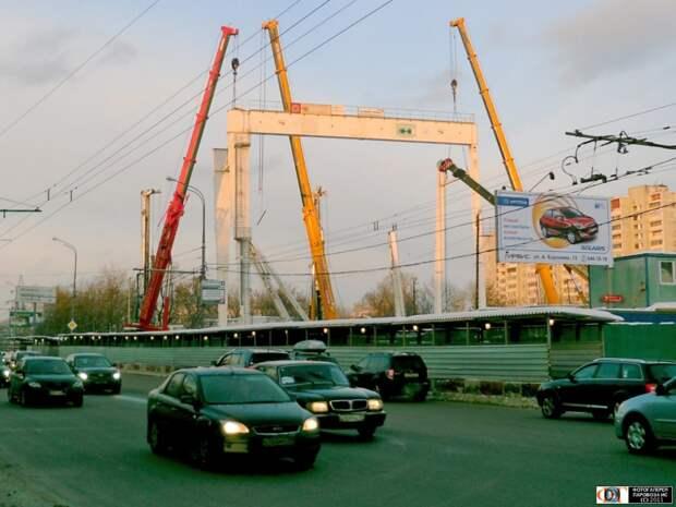 Фото дня: вид на станцию метро «Марьина Роща» в 2011 году