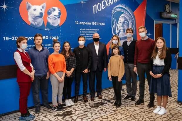 Школьники Москвы вышли на прямую связь с космосом