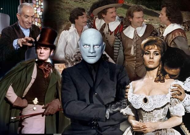 Самые популярные французские фильмы в СССР в 60-е