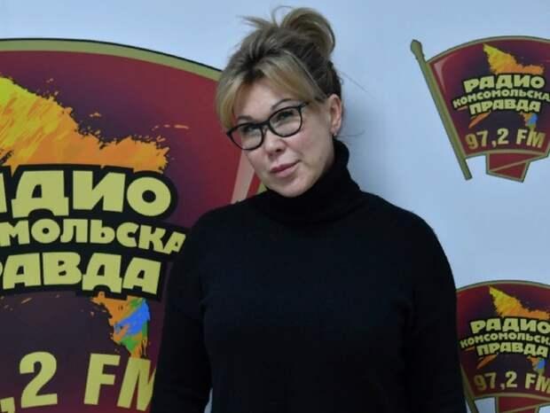 """Телеведущий Андрей Норкин сообщил о смерти супруги - ведущей """"Комсомольского радио"""""""