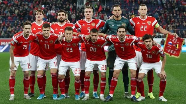 Сборная России осталась на38-м месте вобновленном рейтинге ФИФА