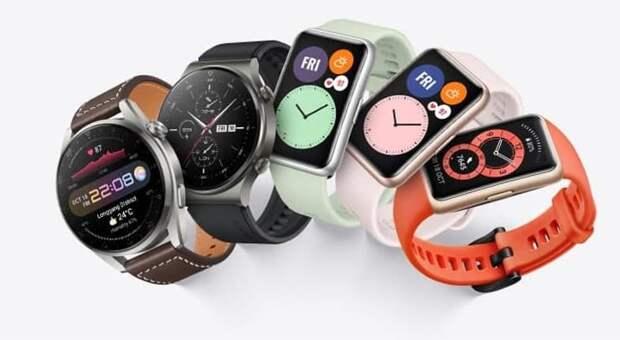 Huawei продала более 80 миллионов умных часов, браслетов и наушников по всему миру