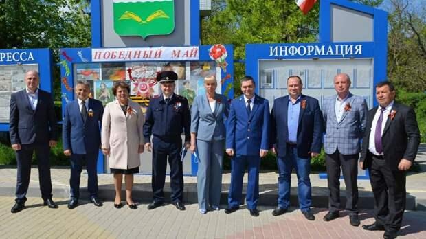 В пгт Первомайское состоялся митинг, посвященный 76-й годовщине Победы в Великой Отечественной войне