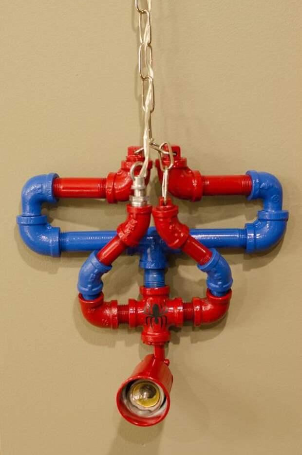 Светильник человек-паук