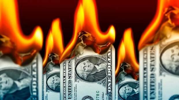"""Экономика, жги костры! Байден подвел доллар """"под монастырь"""""""