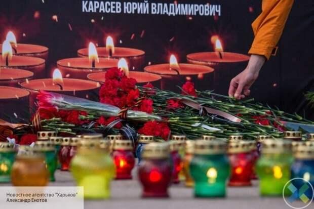На Куликовом поле очереди: одесситы возлагают цветы в память о погибших 2 мая 2014 года