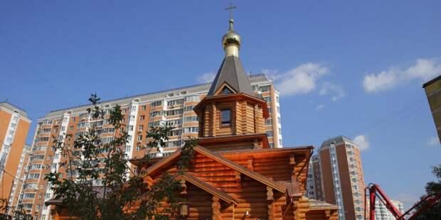 Храм на Клинской достроят в мае 2021 года