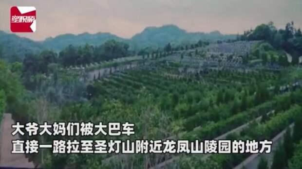 Пожилые туристы поехали на экскурсию и внезапно попали на кладбище