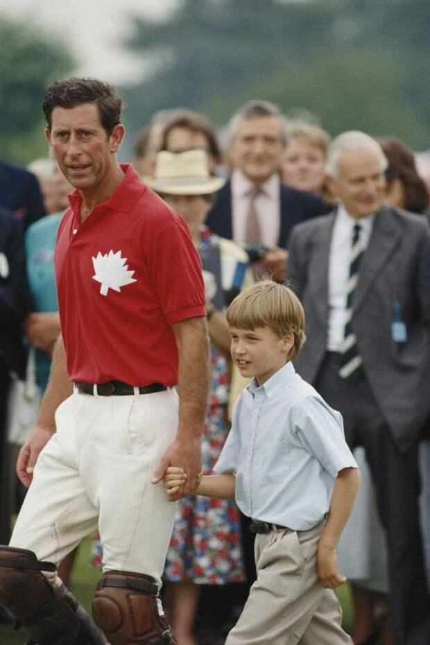 Принц Чарльз пропустил первый день принца Уильяма в школе