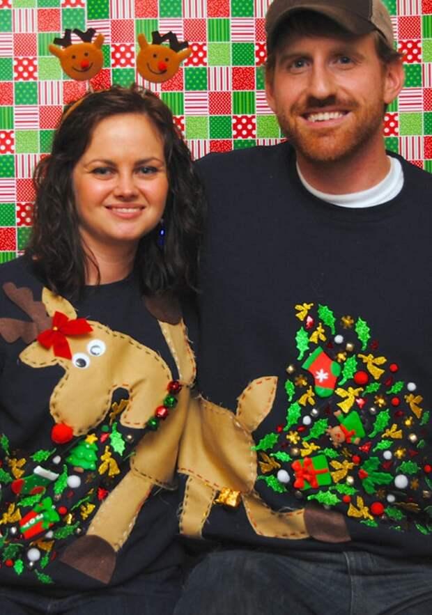 Крейзи свитера на Новый год