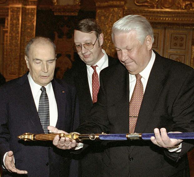 Оружие и доспехи, которые дарили русским правителям