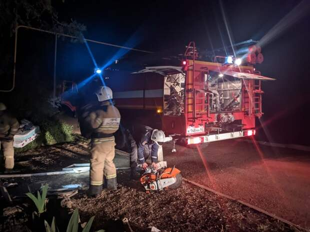 На пожаре в крымском селе Табачное погиб человек