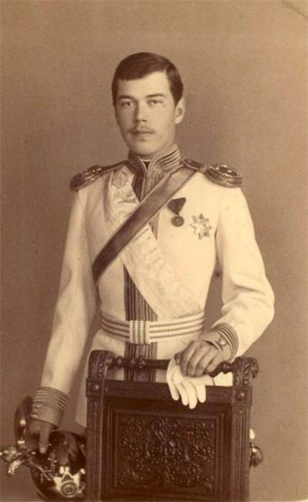 Молодой цесаревич Николай Александрович