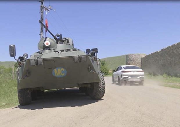Российские миротворцы обеспечили 80 паломникам безопасность посещения монастыря Амарас на линии разграничения сторон