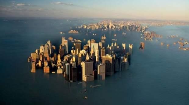 Уровень мирового океана растет быстрее, чем ожидали ученые