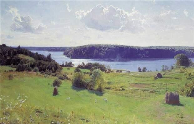 Русские пейзажи Александра Афонина, которого называют современным Шишкиным