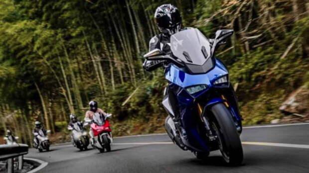 Итальянский спортивный мотоцикл Ducati Panigale на Тайване превратили в скутер