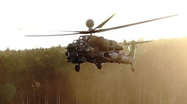 Новая фигура высшего пилотажа «воронка на хвост» позволит Ми-28НМ сбивать самолеты