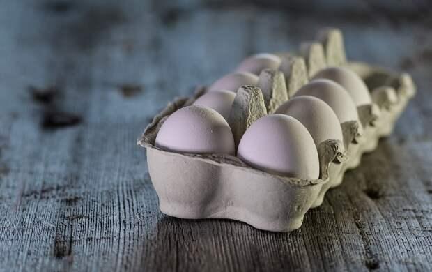 Яйца, Сырье, Молочная, Крупным Планом, Деревенский