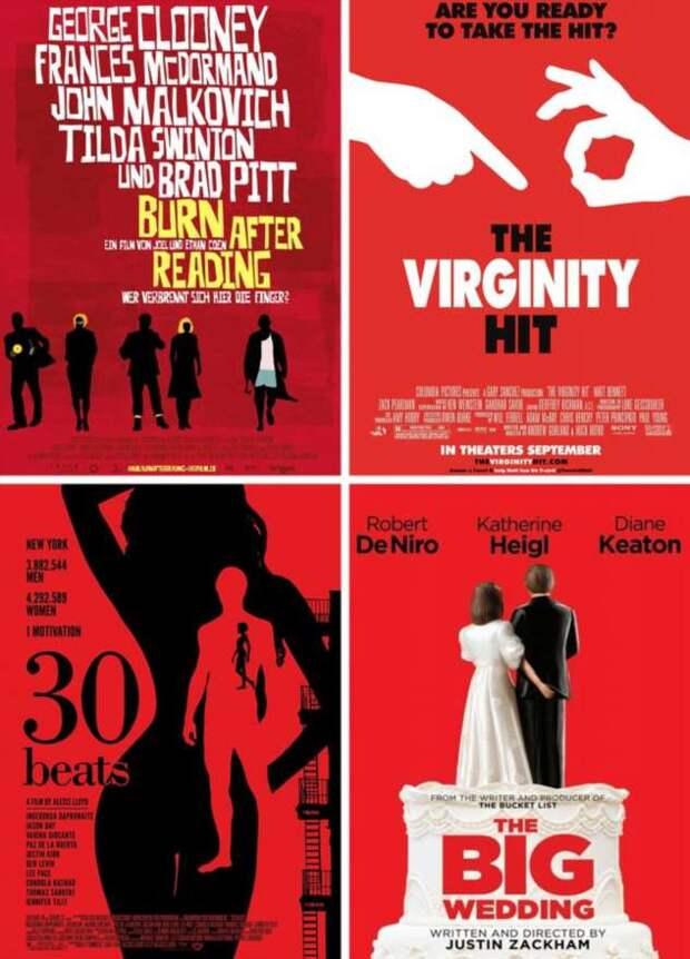 11 приемов в создании киноафиш, которые кричат о сюжете фильма громче, чем трейлер