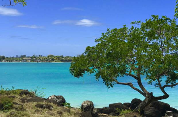 Пляж на северной части Маврикия