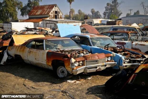 Добро пожаловать в настоящий американский Джанкярд авто, автозапчасти, авторазборка, автосвалка, джанкярд, олдтаймер, ретро авто, свалка