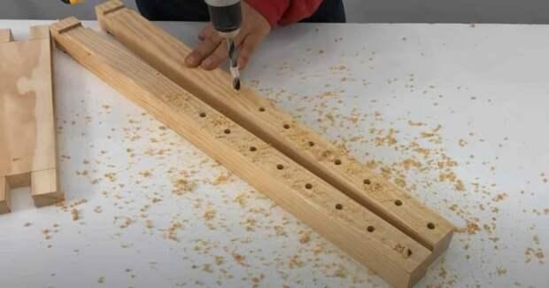Как сделать приспособление для склейки щитов из досок
