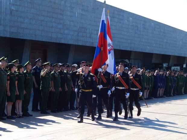 В Севастополе прошло открытие и старт соревнований Всеармейского этапа конкурса «Воин мира»