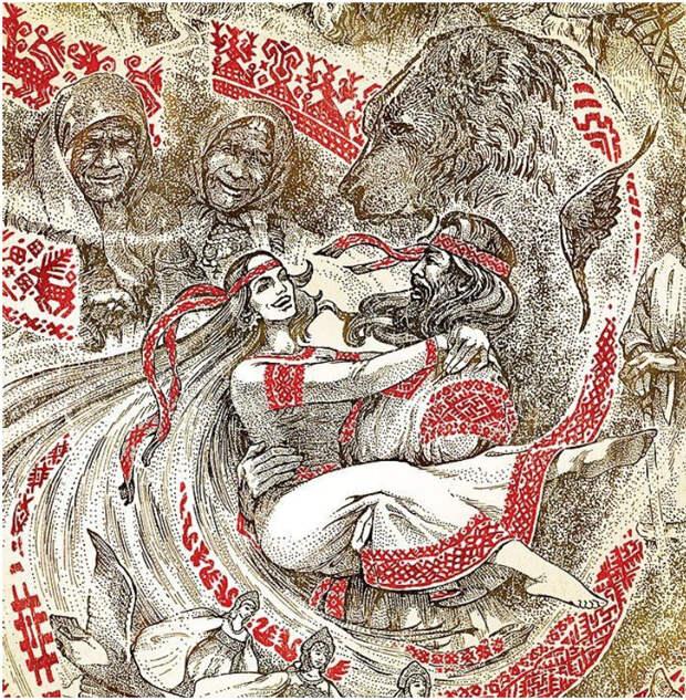 Русский Дух 21 века. Оживающая сказка художника Максима Кулешова, фото № 21
