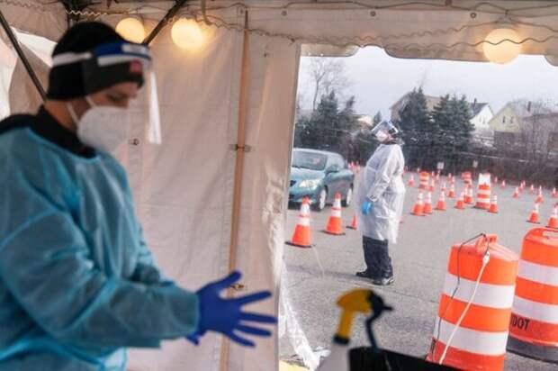 Гибридный штамм коронавируса обнаружили в США