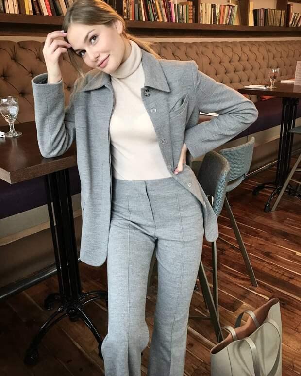 Модные образы зимы 2019 для бизнес-леди фото 13