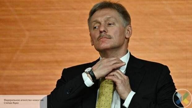 В Кремле не будут пересматривать позицию по Крыму и Донбассу из-за санкций США