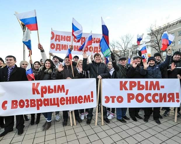 Невзоров: крымчане хотят вернуться в состав Украины