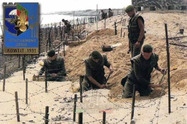 Операции Иностранного легиона в конце ХХ и начале XXI столетий