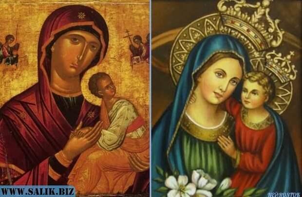 Православная и католическая.