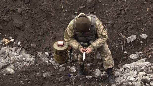 Из-за Зеленского и сломанного миноискателя погибли два бойца ВСУ