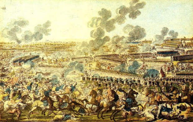 За взятие Измаила. 1790 г.