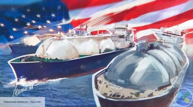 Киев решил шантажировать Москву покупкой сжиженного газа у США
