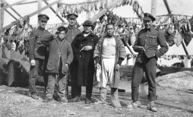 Что делали канадцы во время Гражданской войны в России?