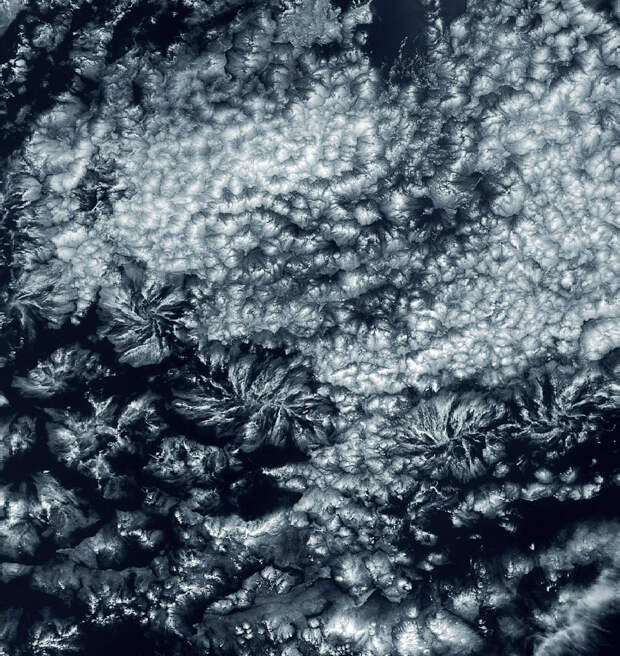 Лучевые облака