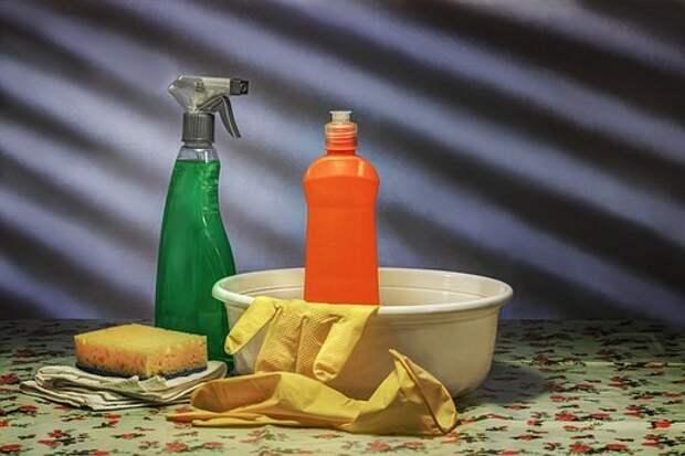 Уборка, Чистота, Очиститель, Таз