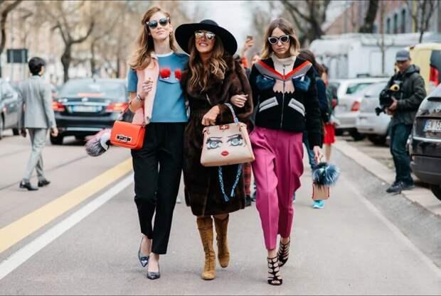 Женская сумка: секреты способов ношения