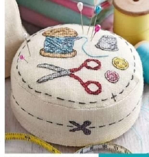 Вышивка игольницы в подарок
