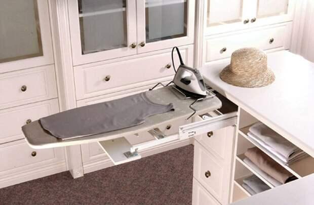 Лучшие способы хранения гладильной доски: подбор места и рекомендации