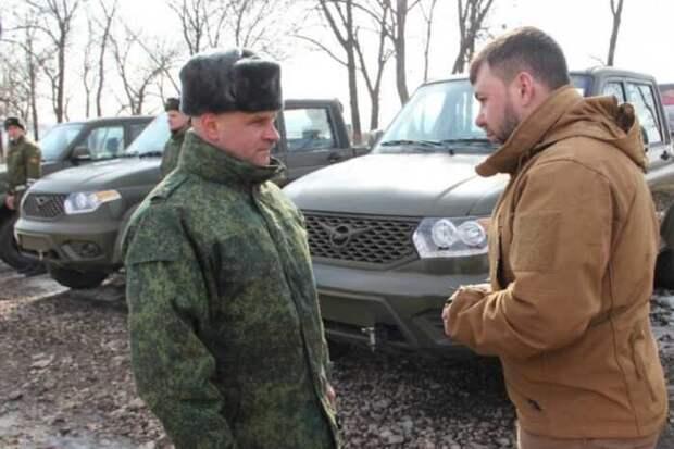 Народные милиции ДНР и ЛНР получили новую военную технику