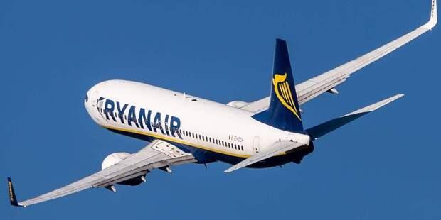 Россия не будет расследовать посадку Ryanair