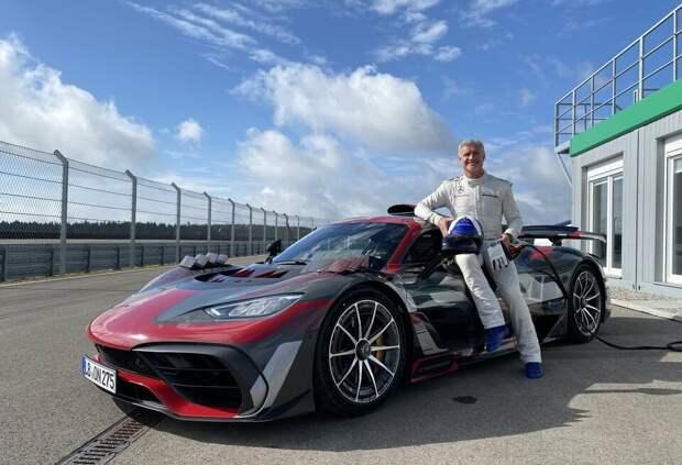 Дэвид Култхард опробовал эксклюзивный суперкар Mercedes