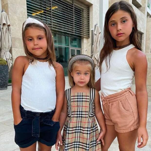 Джиган и Оксана Самойлова отдыхают в Турции вместе с четырьмя детьми